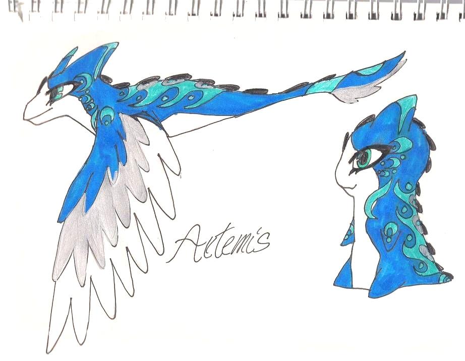 Dibujos de Bajoterra para dibujar artemis - Dibujando un Poco