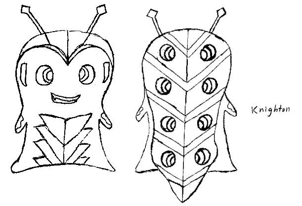 Dibujos de Bajoterra para dibujar knighton - Dibujando un Poco
