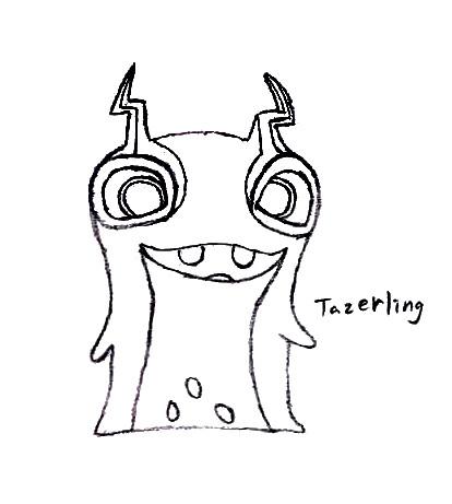 Dibujos de Bajoterra para dibujar tazerling - Dibujando un Poco