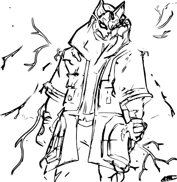 Dibujos de fortnite para colorear deriva - Dibujando un Poco