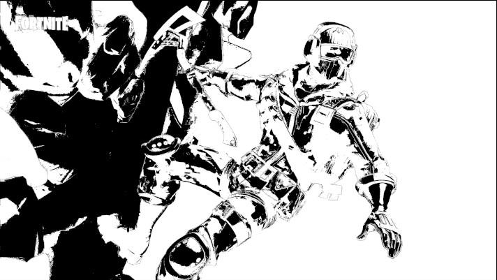 Dibujos de fortnite para colorear temporada 7 - Dibujando un Poco