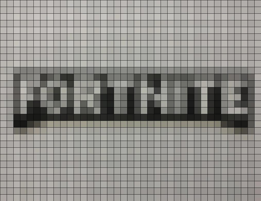 Dibujos de fortnite pixel art logo - Dibujando un Poco