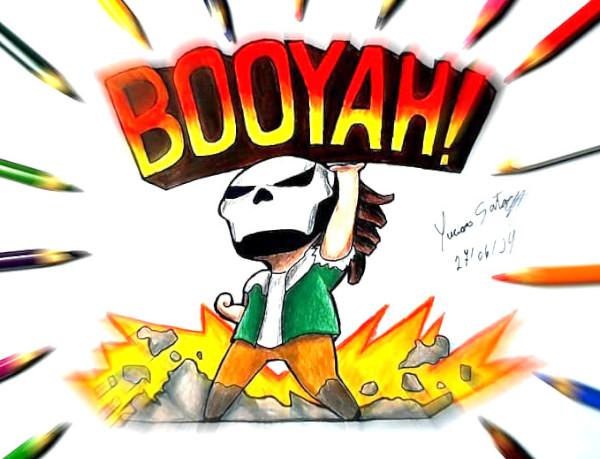 Dibujos de free fire faciles booyah - Dibujando un Poco