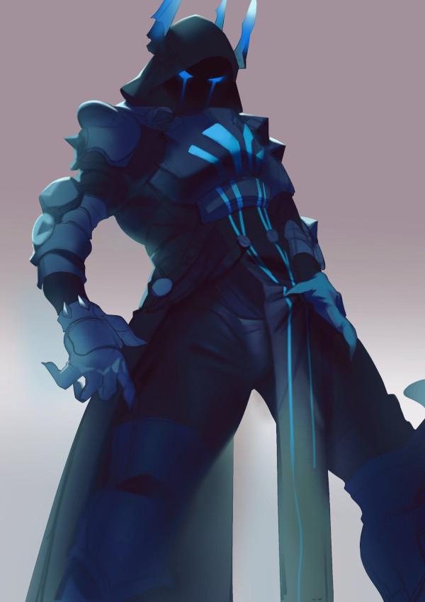 Dibujos de skins y de personajes de fortnite rey de hielo - Dibujando un Poco