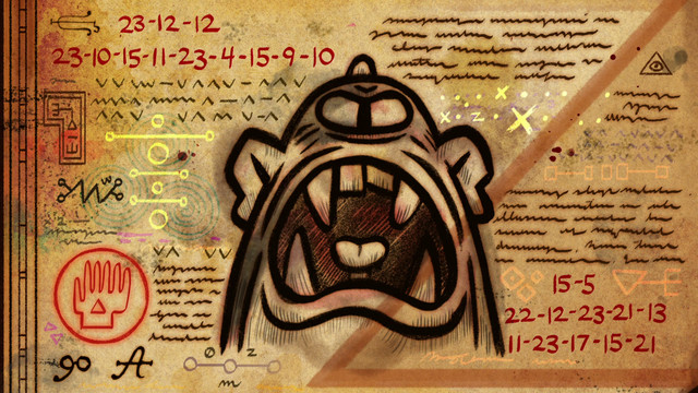 Dibujos del diario de gravity falls ciclopes - Dibujando un Poco