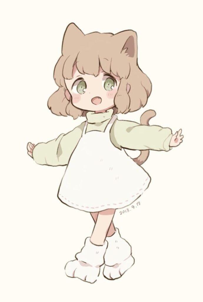 Dibujos kawaii de anime faciles - Dibujando un Poco