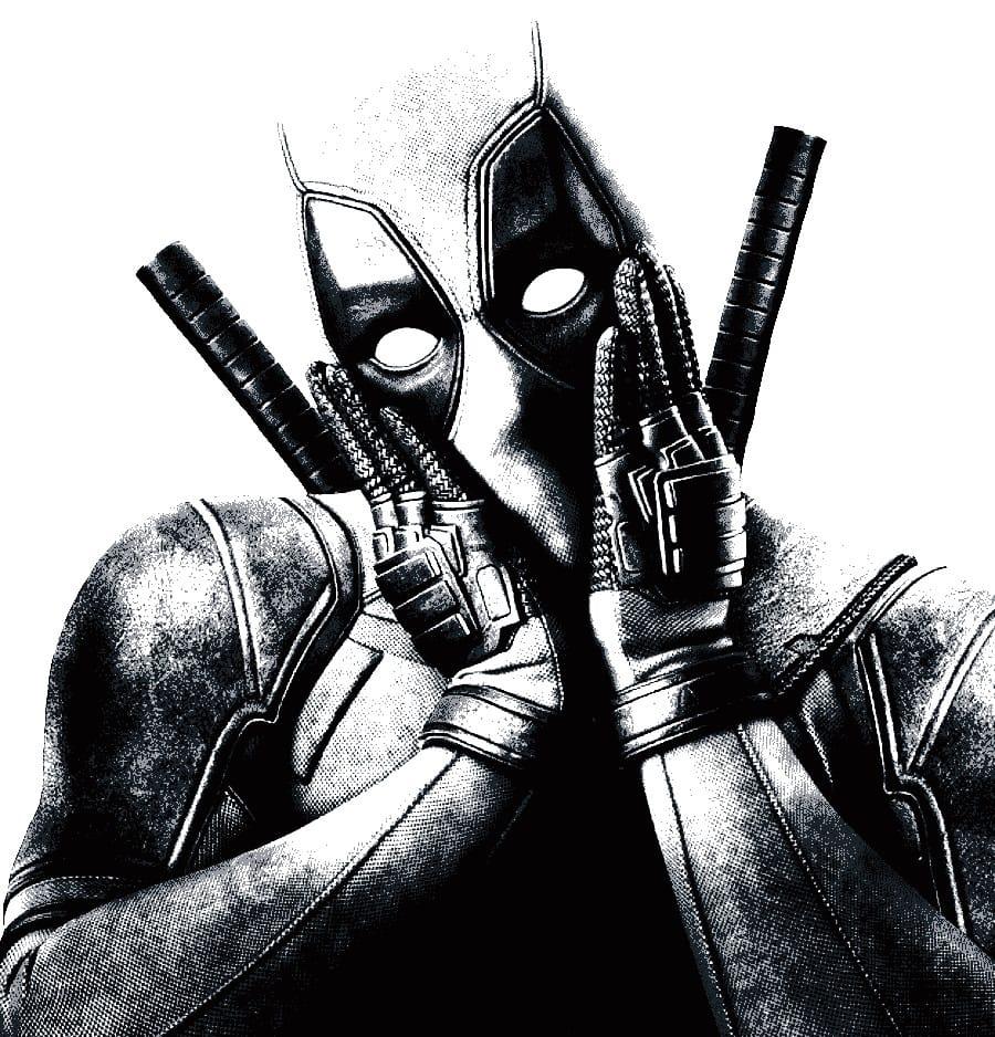 Dibujos para colorear de Deadpool 2 - Dibujando un Poco