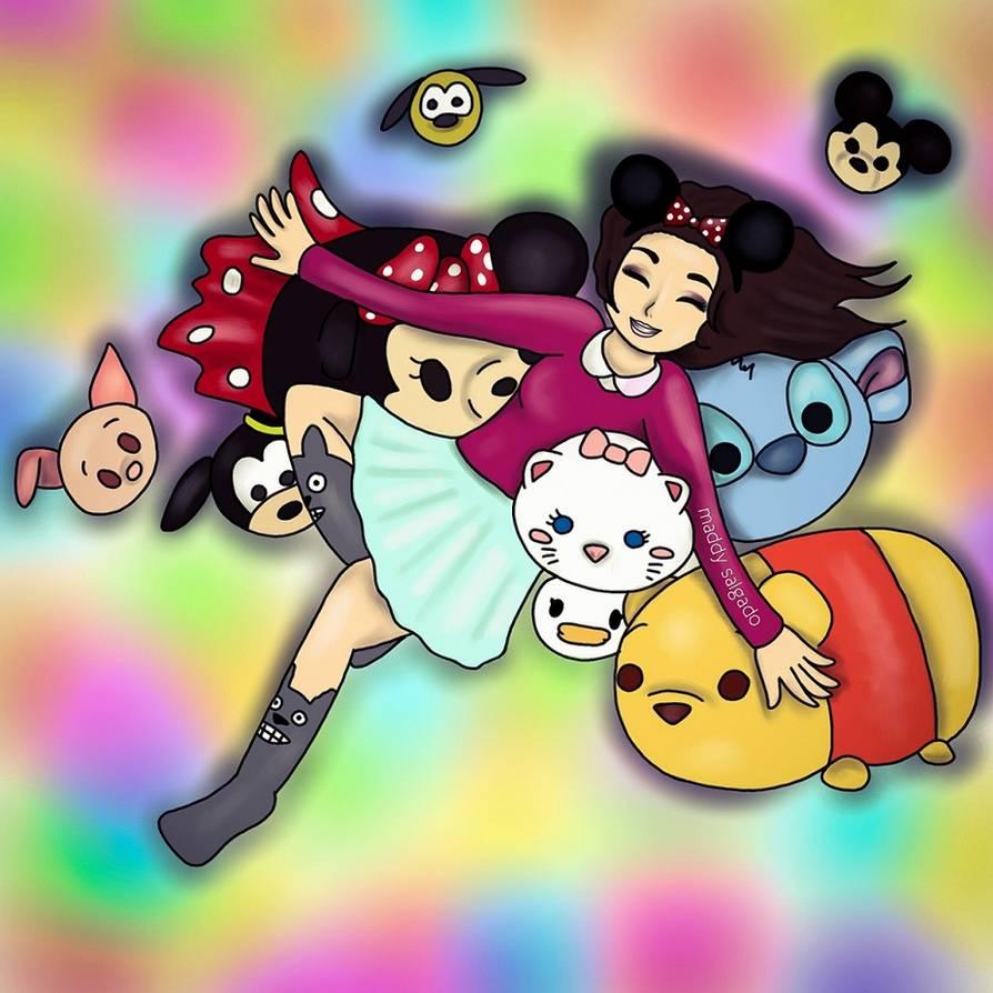 Tsum Tsum Disney dibujos - Dibujando un Poco