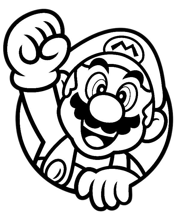 dibujos de Super Mario por Joshuat1306 en DeviantArt para colorear - Dibujando un Poco