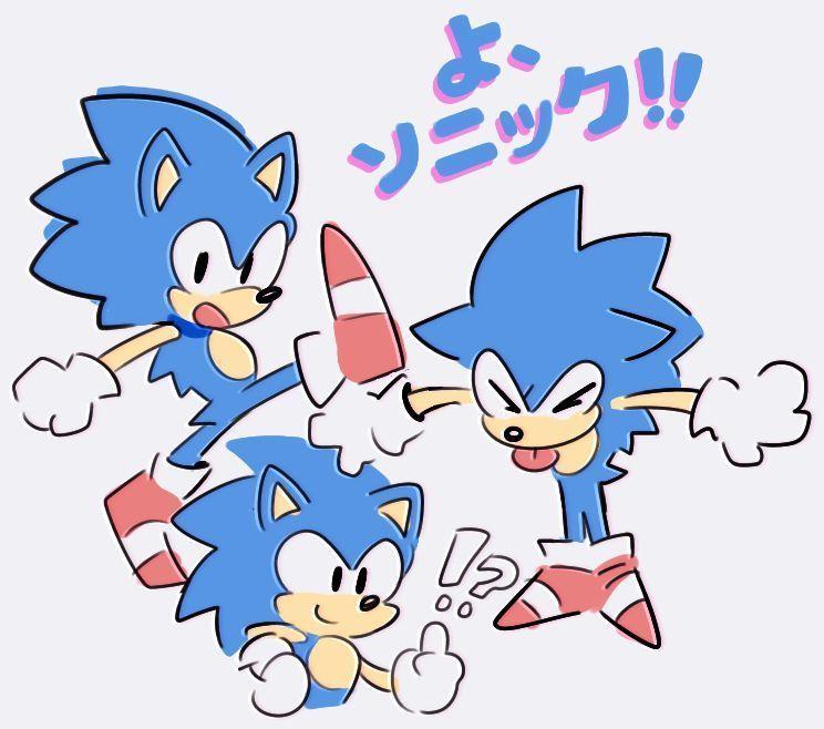 dibujos de sonic kawaii - Dibujando un Poco