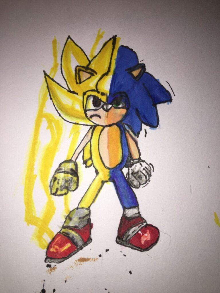 dibujos de supersonic transformacion - Dibujando un Poco