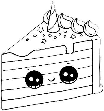 dibujos kawaii pastel para colorear - Dibujando un Poco